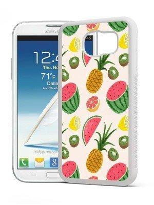 S6 siliconen telefoonhoesje wit