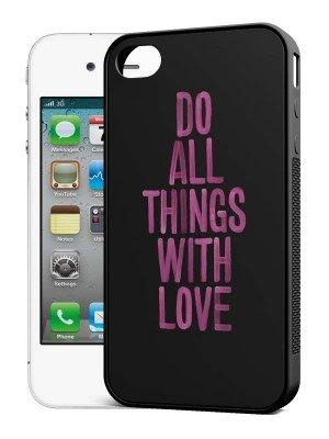 iphone 4 silicone hoesje zwart