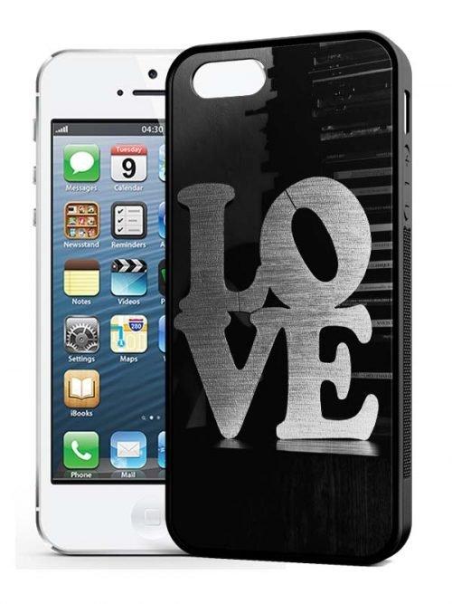 iphone 5 siliconen hoesje zwart