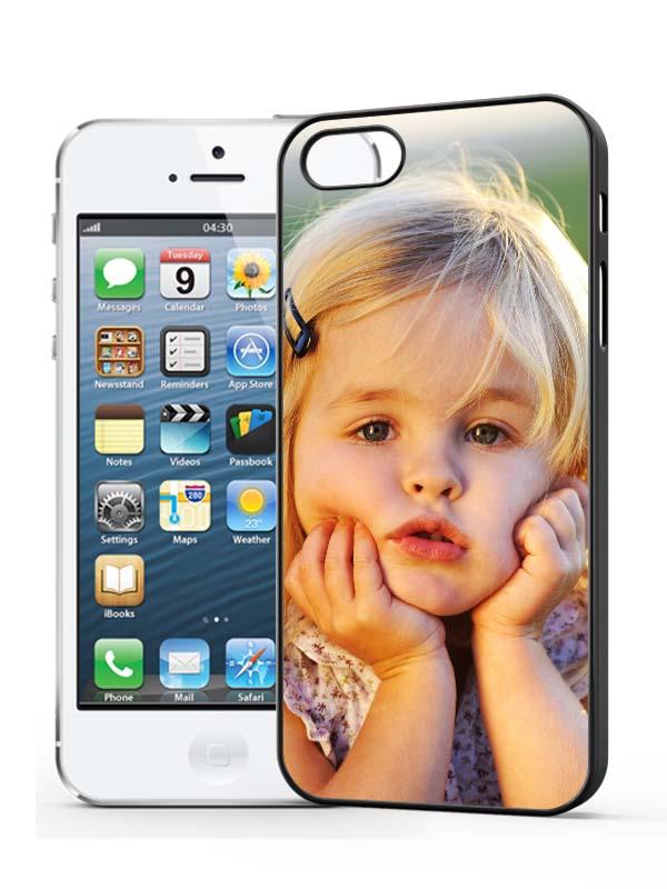 iphone 5/5s Hardcase Zwart - apple-iphone-5