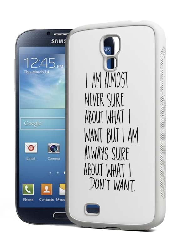 samsung s4 siliconenhoesje wit