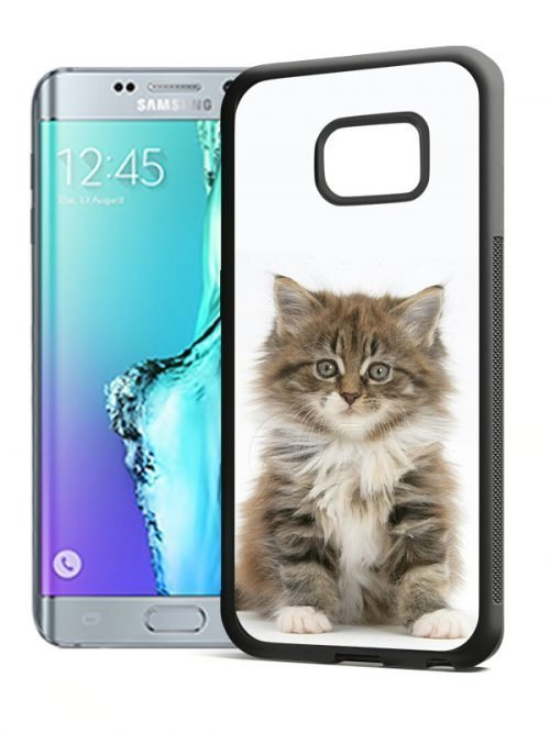 S6 edge plus softcase zwart