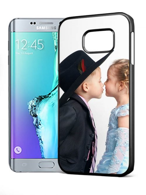 S6 edge plus hardcase zwart