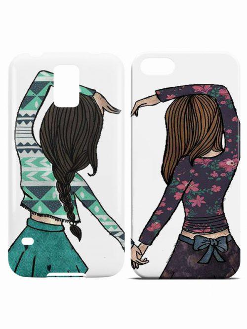bff girls telefoonhoesje