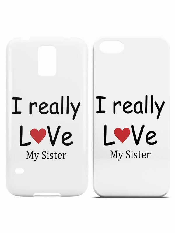 i really love my sister hoesje