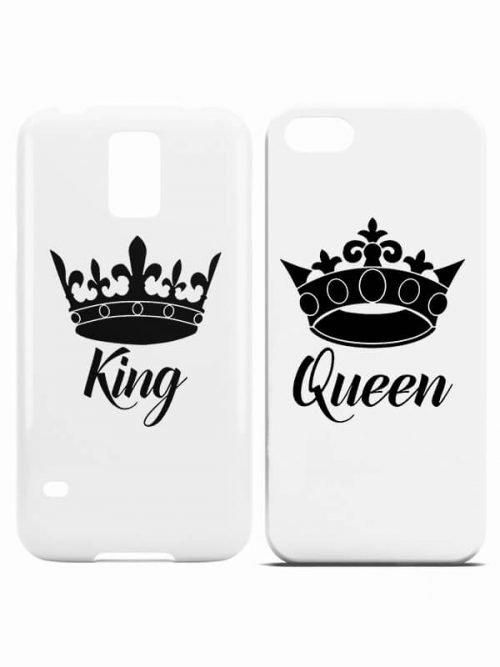 De queen - de King telefoonhoesjes
