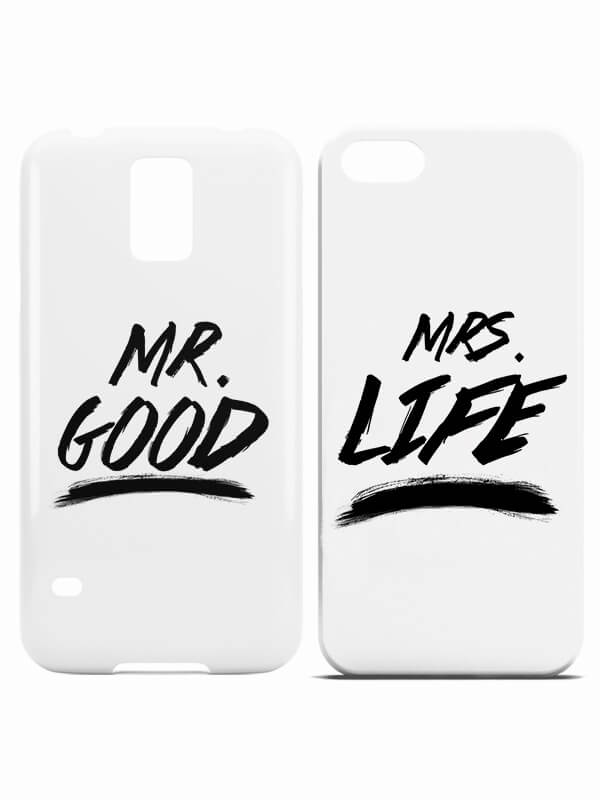 Mr Good Mrs Life hoesjes