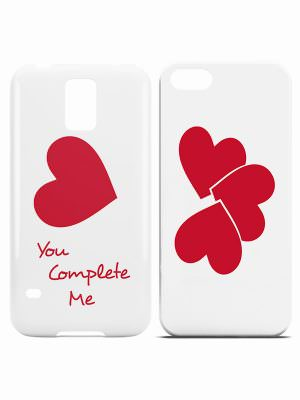 you complete me love phone cases