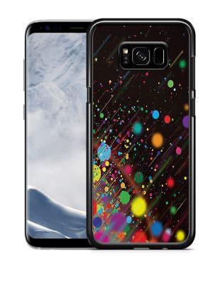 Samsung S8 hardcase zwart met foto