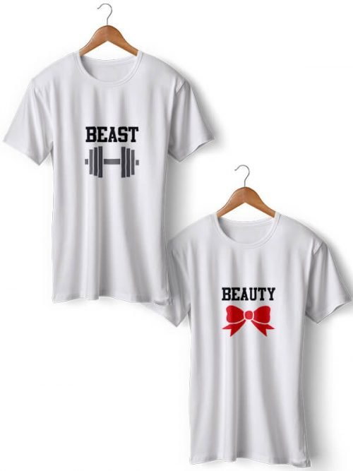 BEAUTY BEAST T-shirt