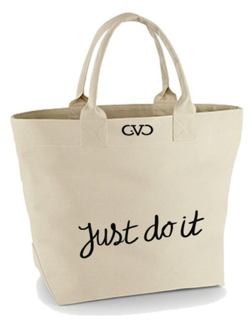 Good Vibes Only Canvas Tote Bag Just do it