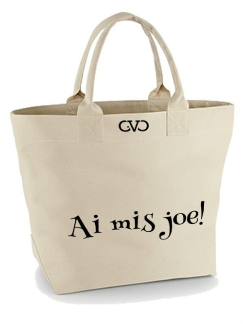 Good Vibes Only Canvas Tote Bag ai mis joe