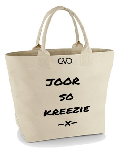 Good Vibes Only Canvas Tote Bag joor so kreezie