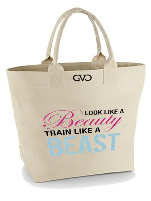 Good Vibes Only Canvas Tote Bag look like a beauty
