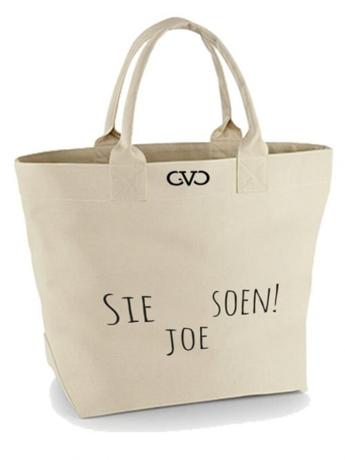 Good Vibes Only Canvas Tote Bag sie soen joe