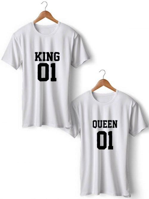 KING & QUEEN T-shirt
