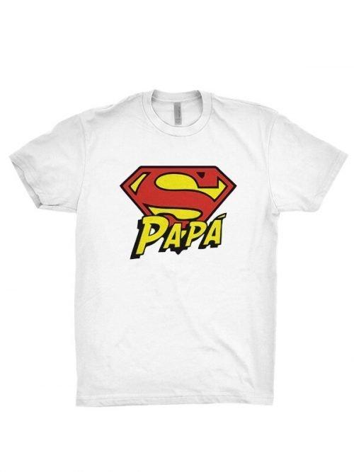 Papa superman T-shirts