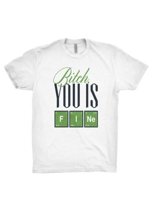 bitch you is fine t-shirt