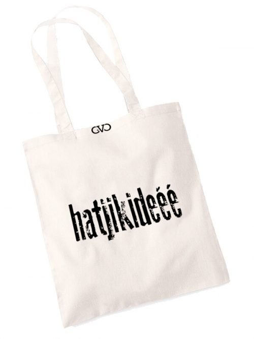 good vibes only shopper tas hartijkideee