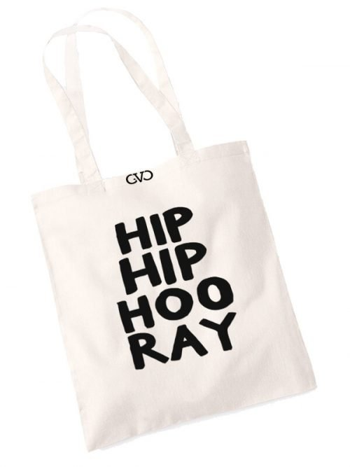 good vibes only shopper tas hip hip hoo ray