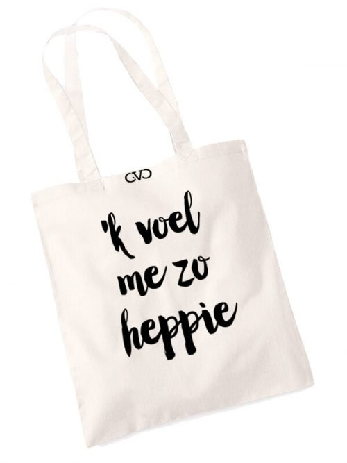 good vibes only shopper tas ik voel me zo heppie