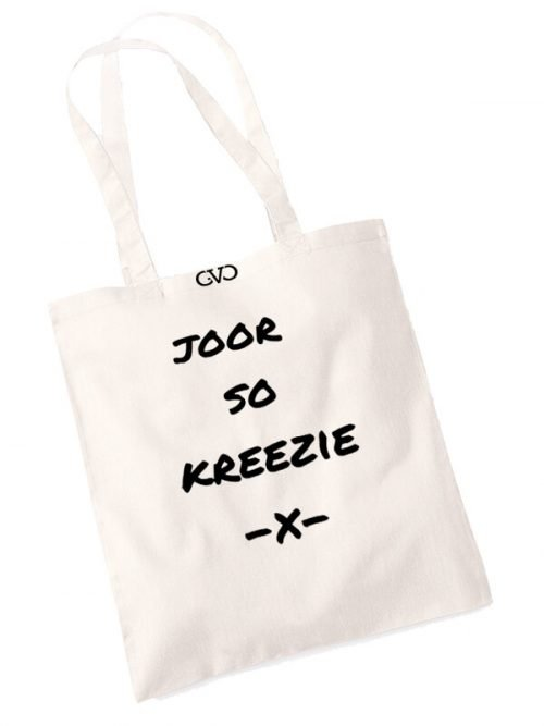 good vibes only shopper tas joor so kreezie