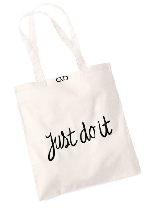 good vibes only shopper tas just do it