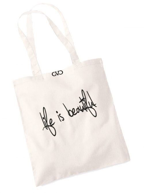 good vibes only shopper tas life is beautiful