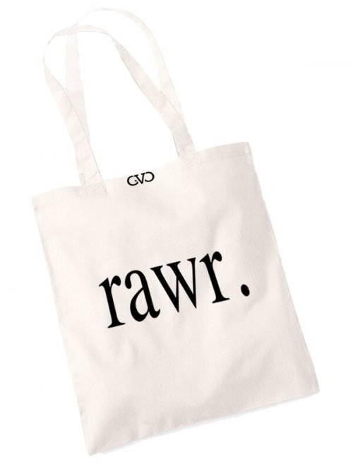 good vibes only shopper tas rawr