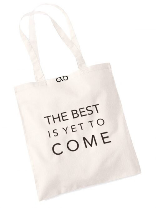 good vibes only shopper tas the best is yet to come