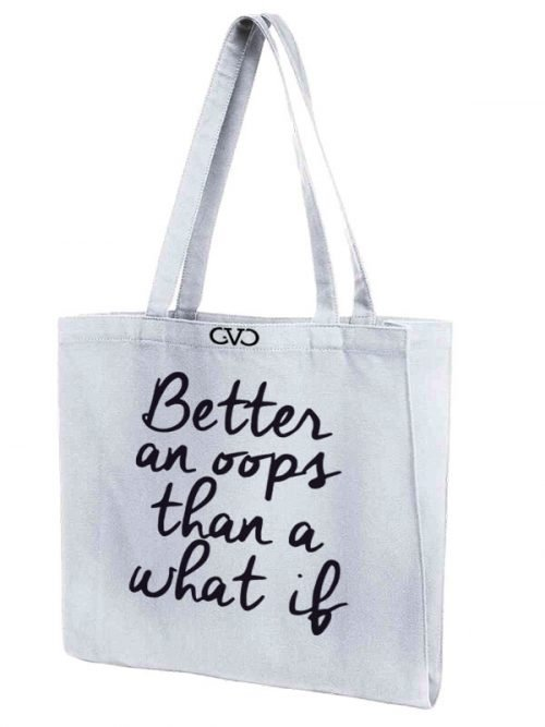 tote bag Good Vibes Only better on oops
