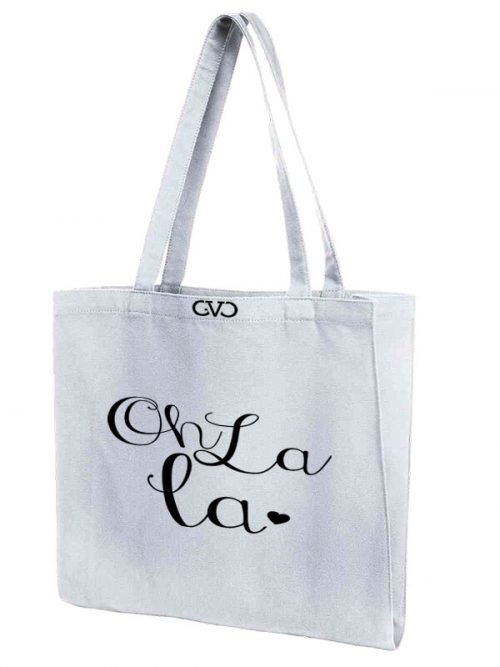 tote bag Good Vibes Only oh la la