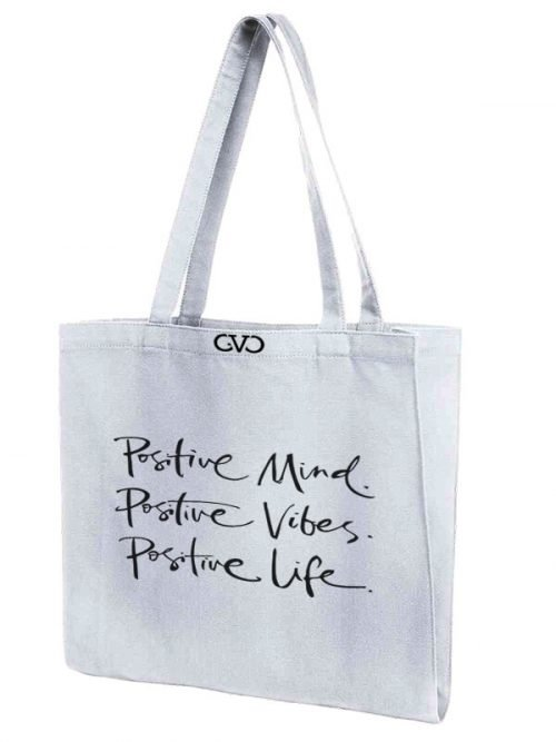 tote bag Good Vibes Only positive mind