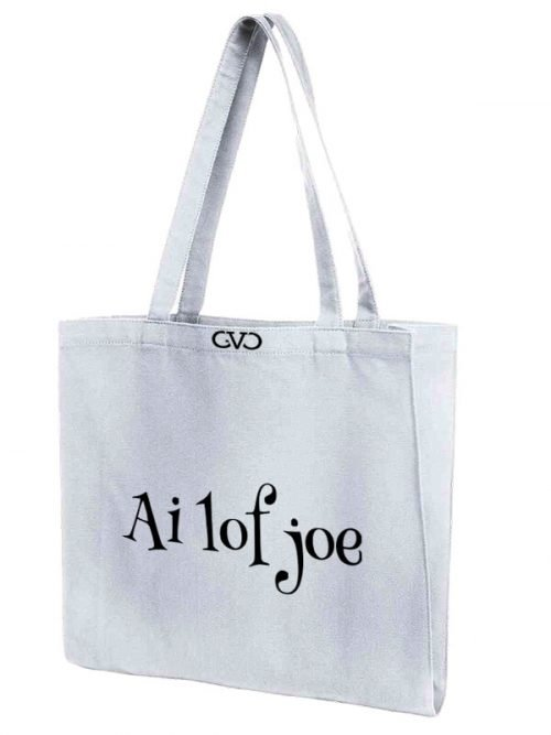 tote bag quote ai lof joe