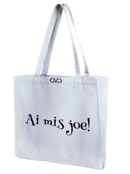 tote bag quote ik mis joe