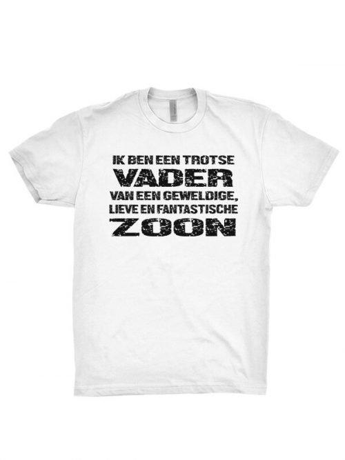 trotse vader zoon T-shirts
