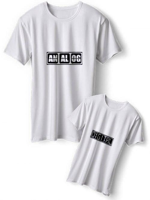 Analog Moeder Dochter T-Shirts