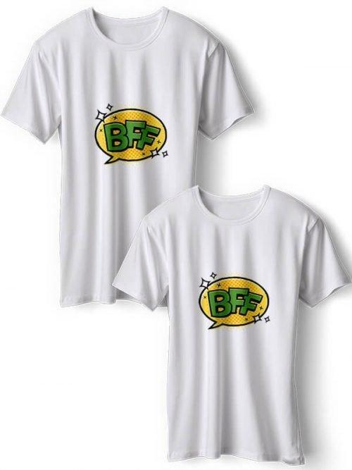BFF T-Shirts Wit
