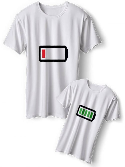 Batterij Vader Zoon T-Shirts