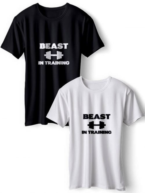 Beast In Training Best Friends T- Shirts