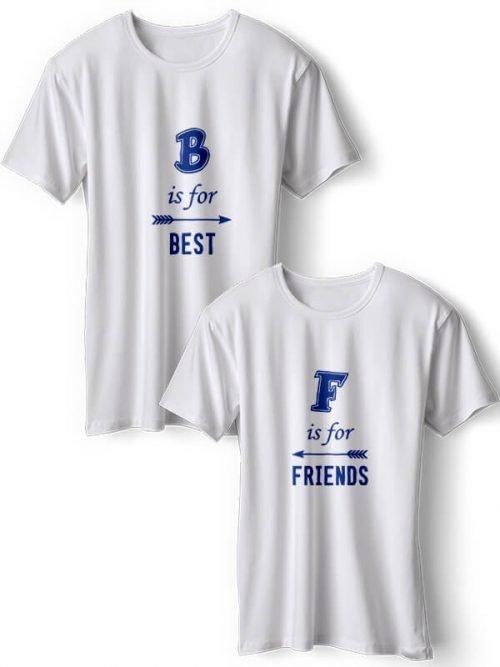 Best Friends T- Shirts Blauw