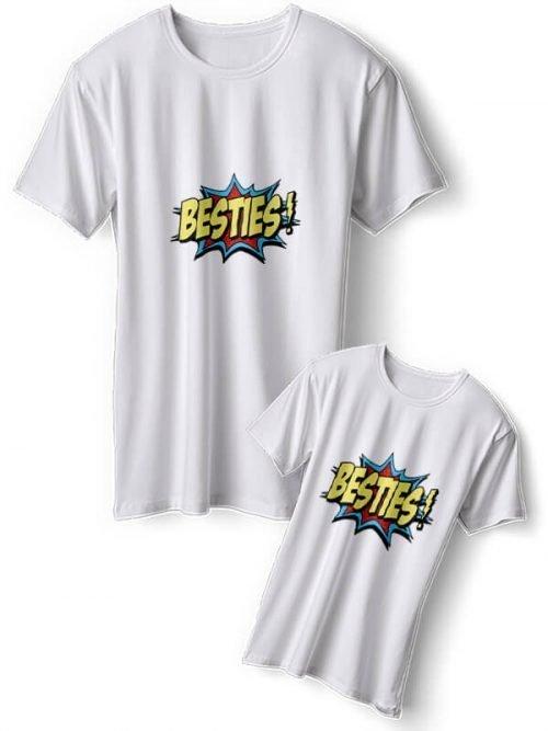 Besties Moeder Dochter T-Shirts