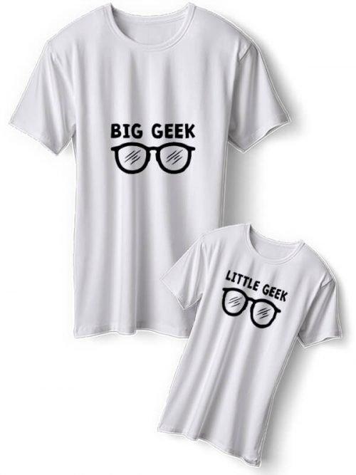 Big Geek Vader Zoon T-Shirts