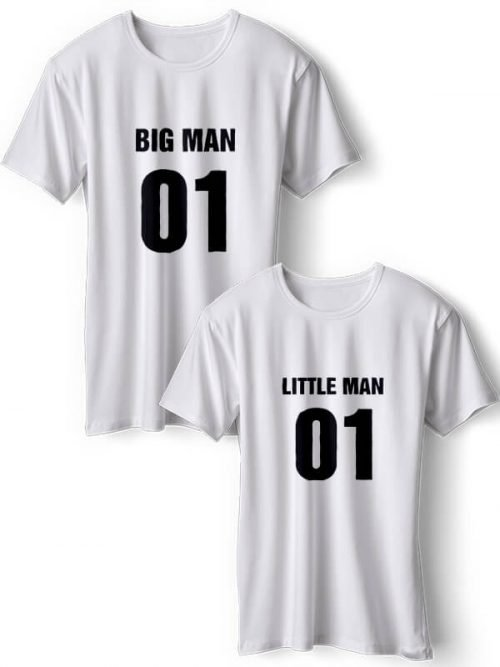 Big Man T-Shirts Wit