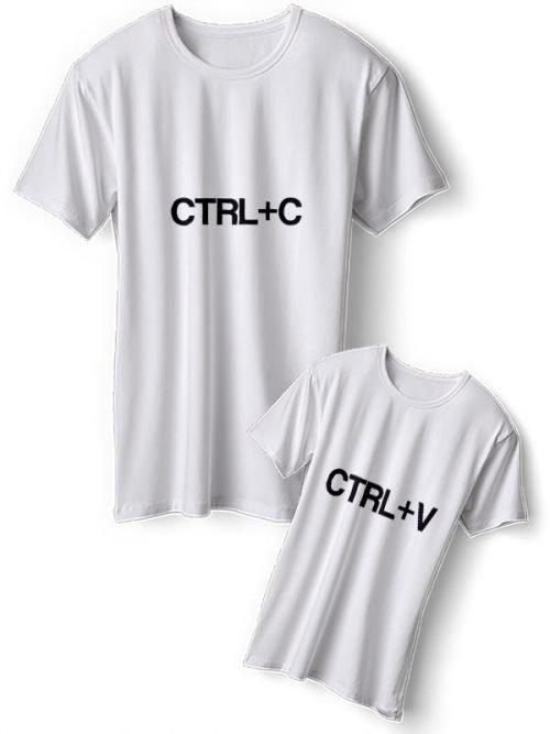 CTRL C Moeder Dochter T-Shirts