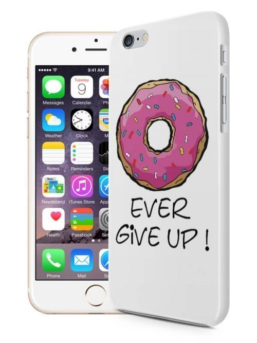 DoNut ever give up telefoonhoesje