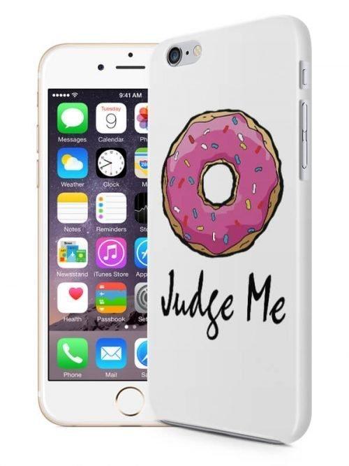 DoNut judge me telefoonhoesje