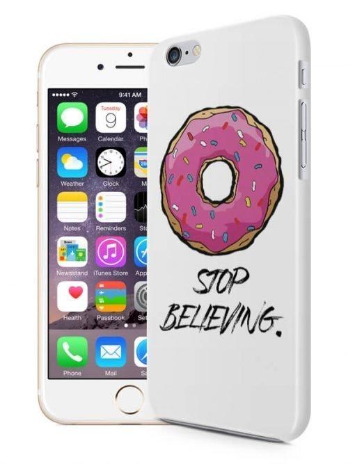 DoNut stop believing telefoonhoesje