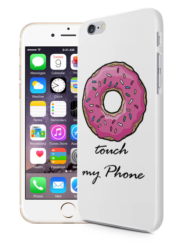 DoNut touch my phone hoesje