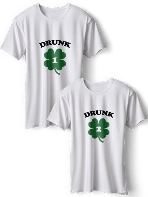 Drunk BFF T-Shirts Wit